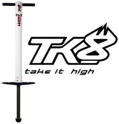 Bâton sauteur TK8 BIG AIR blanc